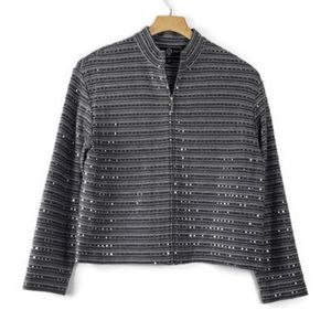 St. John Sport by Marie Gray S Small Gray Sequin